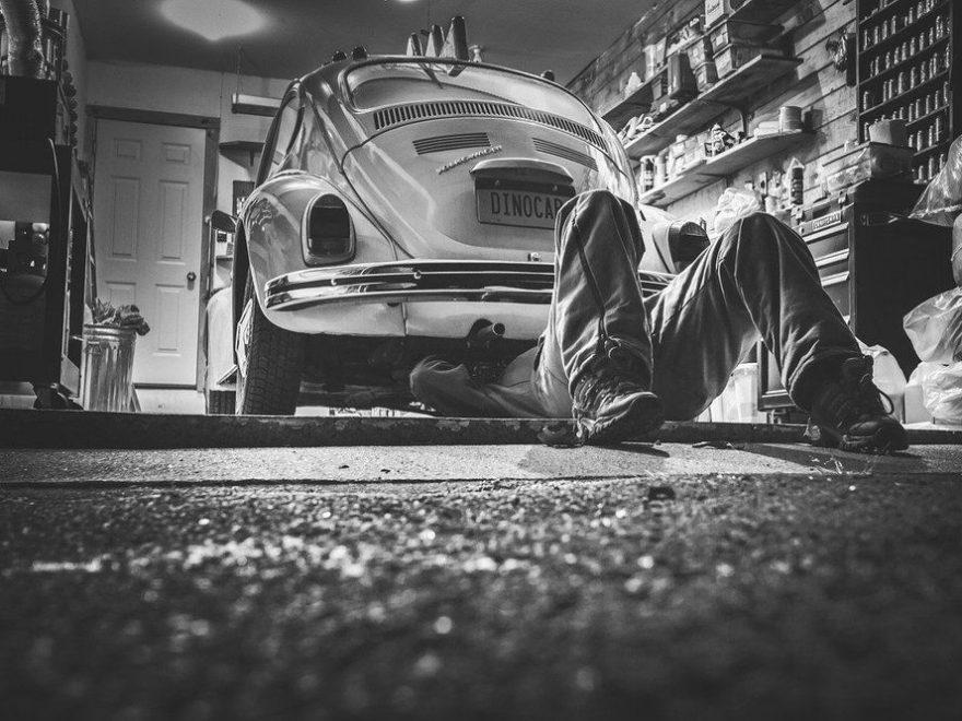 Er din bil ved at være færdig?